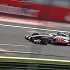 Jenson Button - Monza by Tom Clancy