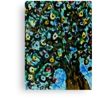 Liquorice Allsort Tree Canvas Print