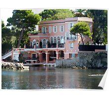 David Niven Villa On Cap Ferrat Poster