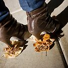 High Heels and Fallen Leaves by Lita Medinger