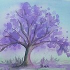 Jacaranda by Dianne  Ilka