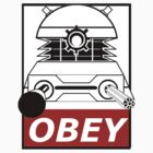 Obey Dalek Commands by scratchyrock