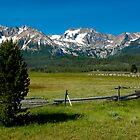 Sawtooth Mountains, Idaho by Matt Emrich