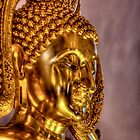 Golden Buddha -- Wat Buddharangsi, Miami, Florida by njordphoto