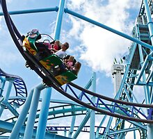 First roller coaster by Ian  Pearce
