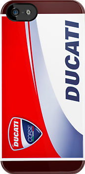 Ducati iPhone Case by corsefoto