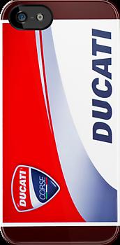 Ducati iPhone Case by corsefoto