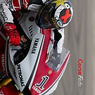 Jorge Lorenzo in Assen iPhone case by corsefoto