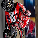 Hayden in Laguna Seca iPhone case by corsefoto