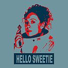River Song Hello Sweetie ( iPhone Case ) by PopCultFanatics