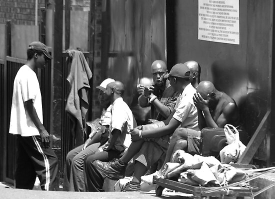 Life on the street by Graeme M