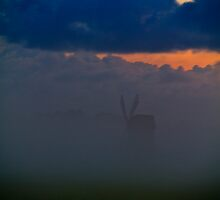 Fog. Wind. Mill. by tutulele
