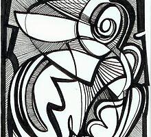 Curly Bird by Maya Hiort Petersen