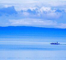 Philippine Sea Sunrise by Valerie Rosen