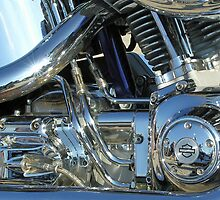 Harley Davidson Screamin Eagle 103 power-plant for iPhone by Philip Mitchell