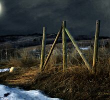 Starless Canadian Sky by RC deWinter