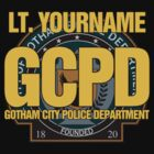 Custom Gotham Police T-Shirt - EXAMPLE ONLY - DON'T ORDER - SEE DESCRIPTION by TGIGreeny