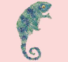 Chameleon Lizard Green Kids Clothes