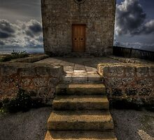 """ ST, MARY MAGDALENA WAYSIDE CHAPEL DINGLI CLIFFS MALTA "" by RayFarrugia"