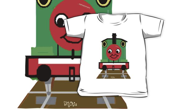 Toddlers Leo the Toy Train Engine Tshirt by dorcas13