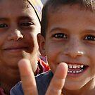 Bedhouin Children, Hurghada, Egypt by LisaRoberts