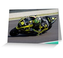 Cal Crutchlow in Mugello 2011 Greeting Card