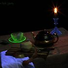 Black-Light Tea Cup by FrankSchmidt