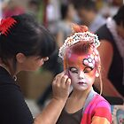 Face Painting Street Stall...Buskerfest Toronto by NewfieKeith