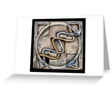 Spiral two: evolving currents Greeting Card