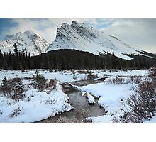 Elbow Pass valley III Photographic Print