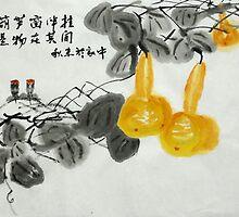 bottle gourd  by davvi