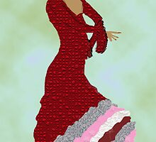 Spanish Dancer No 2 by kreativekate
