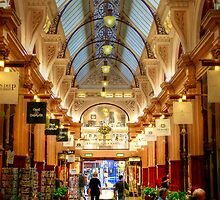 Block Arcade, Melbourne by Christine Smith