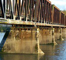 Bridging the Fraser River by Sheri Bawtinheimer