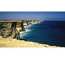 Cliffs of the Great Australian Bight Photographic Print