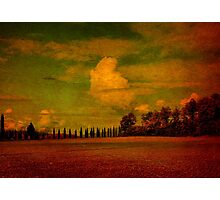Clouds Over San Galgano-Tuscany Photographic Print