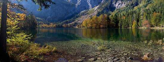Alpine Lake by Walter Quirtmair