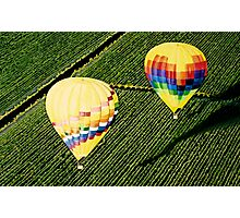 """""""Balloons Over Napa Valley"""" Photographic Print"""