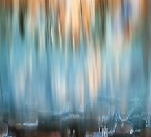 Waterfall abstract by Richard G Witham