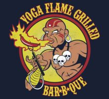 Yoga Flame Grilled BBQ Kids Clothes