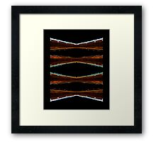 Ode to glass (13) / calendar title page Framed Print