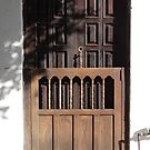 Old traditional front door  by Bernhard Matejka