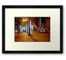 Telephone Boxes Framed Print