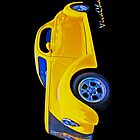 Yellow Ford Coupe iPhone Case by ChasSinklier