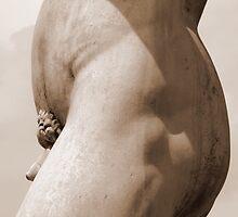 David Mid Profile Sepia by RWhitfield