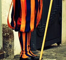 Swiss Guard by Caroline Fournier
