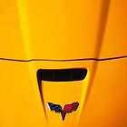 Little Yellow Corvette iPhone Case by Ron Hannah