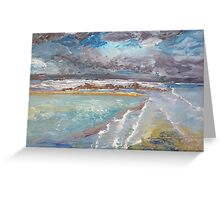 Storm Coming at Austinmer Beach Greeting Card