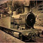Vintage Train by Jenny1611