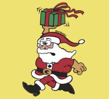 Santa Claus in a Hurry by Zoo-co
